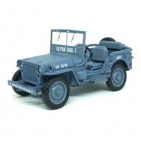 Imagem - Miniatura Carro Jeep Willys - Navy - The Greatest Generation - 1:18 - Auto World