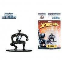 Imagem - Boneco Black Costume Spider-Man MV2 - Spider-Man - Nano Metalfigs - Jada Toys