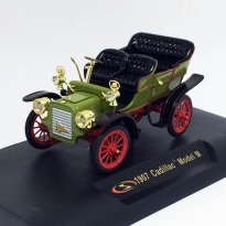 Miniatura Carro Cadillac Model M (1907) - Verde - 1:32 - Signature Models