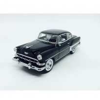 Miniatura Carro Chevrolet Bel Air (1954) - Preto - 1:18 - Sun Star