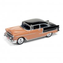 Imagem - Miniatura Carro Chevrolet Bel Air (1955) - Racing Champions Mint - 2016 Series - Coral - 1:64 - Johnny Lightning