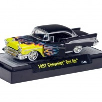 Imagem - Chevrolet: Bel Air (1957) Detroit-Cruisers - Preto - 1:64 - M2 Machines