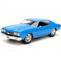 Imagem - Miniatura Carro Chevrolet Chevelle SS (1970) - Azul - Bigtime Muscle - 1:24 - Jada Toys