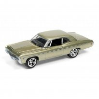 Imagem - Chevrolet: Impala (1968) - Muscle Cars U.S.A - 2016 Series - Dourado - 1:64 - Johnny Lightning