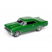 Imagem - Miniatura Carro Chevrolet Nova SS (1967) - Muscle Cars U.S.A - 2016 Series - Verde - 1:64 - Johnny Lightning