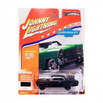 Imagem - Miniatura Carro Chevrolet Nova SS (1967) - Muscle Cars U.S.A - 2016 Series - Preto - 1:64 - Johnny Lightning