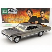 Imagem - Miniatura Carro Chevrolet Impala Sport Sedan (1967) - Black Chrome Edition - Supernatural - 1:18 - Greenlight