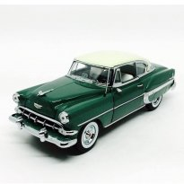 Miniatura Carro Chevrolet Bel Air (1954) - Verde - 1:18 - Sun Star