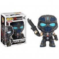 Boneco Clayton Carmine - Gears of War - Pop! Games 113 - Funko