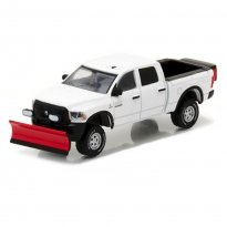 Imagem - Dodge: Ram 2500 (2016) c/ Espalhador de Neve - Blue Collar Collecction - 1:64 - Greenlight