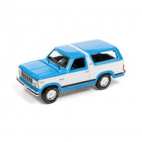 Imagem - Miniatura Carro Ford Bronco (1980) - Racing Champions Mint - 2016 Series - Azul - 1:64 - Johnny Lightning
