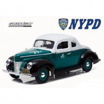 Imagem - Miniatura Carro Ford Deluxe Coupe (1940) - City Of New York - Police - 1:18 - Greenlight