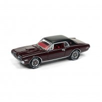 Imagem - Miniatura Carro Ford Mercury Cougar XR7-G (1968) - Classic Gold - 2017 Series - Marrom - 1:64 - Johnny Lightning