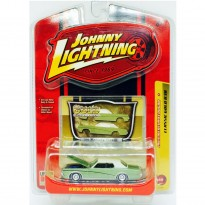 Imagem - Miniatura Carro Ford Mercury Cougar (1969) - Verde - Classic Gold R38 - 1:64 - Johnny Lightning