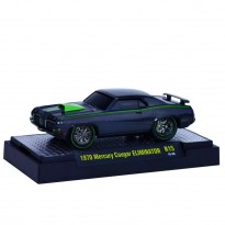 Imagem - Miniatura Carro Ford Mercury Cougar Eliminator (1970) - Ground Pounders - Grafite - 1:64 - M2 Machines