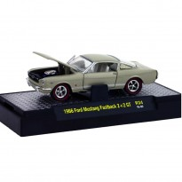 Imagem - Ford: Mustang fastback 2+2 GT (1966) - Detroit Muscle - Creme - 1:64 - M2 Machines