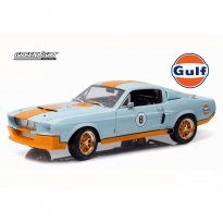 Imagem - Miniatura Carro Ford Shelby GT-500 (1967) - Gulf Oil - 1:18 - Greenlight