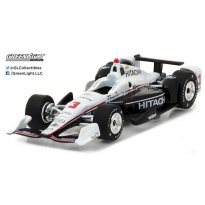 Imagem - Penske Racing: Helio Castroneves #3 - Hitachi - Fórmula Indy (2017) - 1:64 - Greenlight