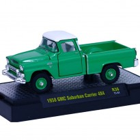 Imagem - GMC: Suburban Carrier 4X4 Pickup (1958) - Auto Trucks - Verde - 1:64 - M2 Machines