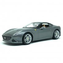 Imagem - Miniatura Carro Ferrari California T (Closed Top) - Ferrari Signature Series - Grafite - 1:18 - Burago