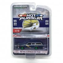 Imagem - Miniatura Carro Ford LTD Crown Victoria Wagon - Polícia (1987) - Hot Pursuit - Série 32 - 1:64 - Greenlight (Chase / Green Machine)