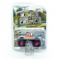 Imagem - Miniatura Carro Chevrolet K-20 (1987) - Excaliber - Kings Of Crunch - Série 5 - 1:64 - Greenlight (Chase)