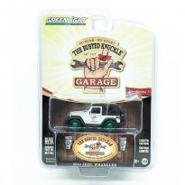 Imagem - Miniatura Carro Jeep Wrangler (2012) - The Busted Knuckle Garage - Série 1 - 1:64 - Greenlight (Chase / Green Machine)