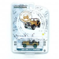 Imagem - Miniatura Carro Jeep CJ-7 Jamboree (1982) - 30th Anniversary - 1:64 - Greenlight (Chase / Green Machine)
