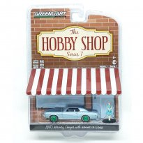 Imagem - Miniatura Carro Ford Mercury Cougar c/ Figura (1970) - The Hobby Shop - Série 7 - 1:64 - Greenlight (Chase / Green Machine)