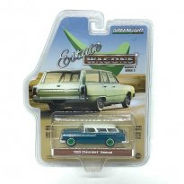 Imagem - Miniatura Carro Chevrolet Nomad (1955) - Estate Wagons - Série 3 - 1:64 - Greenlight (Chase / Green Machine)