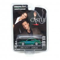 Imagem - Miniatura Carro Dodge Charger (2006) Polícia - Castle - Hollywood - Série 30 - 1:64 - Greenlight (Chase / Green Machine)