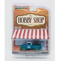 Imagem - Miniatura Picape Ford F-100 (1956) - The Hobby Shop - Series 2 - 1:64 - Greenlight (Chase / Green Machine)