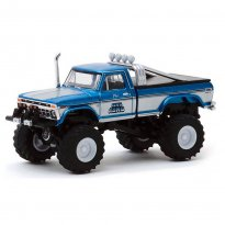 Imagem - Miniatura Carro Ford F-250 - Jeff Dane's King Kong (1975) - Kings Of Crunch - Série 6 - 1:64 - Greenlight