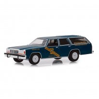 Imagem - Miniatura Carro Ford LTD Crown Victoria Wagon - Polícia (1987) - Hot Pursuit - Série 32 - 1:64 - Greenlight