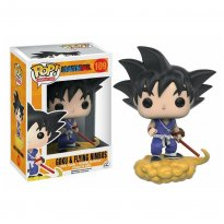 Boneco Goku / Flying Nimbus - Dragon Ball - Pop! Animation 109 - Funko