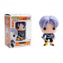 Imagem - Boneco Trunks - Dragon Ball Z - Pop! Animation 107 - Funko