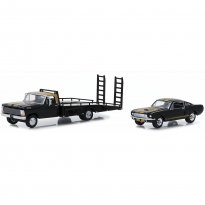 Imagem - Set Miniatura Caminhão Plataforma Ford F-350 (1968) c/ Ford Shelby GT350H (1966) - HD Trucks - 1:64 - Greenlight