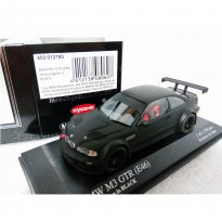 Imagem - Miniatura Carro BMW M3 GTR (E46) - Homologation in Black - 1:43 - Minichamps