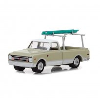Imagem - Miniatura Picape Chevrolet C-10 (1970) - Blue Collar Collecction - Série 4 - 1:64 - Greenlight