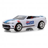 Miniatura Carro Chevrolet Camaro SS (2017) - 101 Running Indy 500 - 1:64 - Greenlight