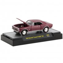 Imagem - Miniatura Carro Chevrolet Camaro SS/RS 396 (1967) - Detroit-Muscle - 1:64 - M2 Machines