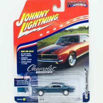 Imagem - Miniatura Carro Chevrolet Camaro Z28 (1967) - Muscle Cars U.S.A - 2016 Series - Verde -  1:64 - Johnny Lightning