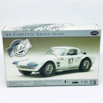 Imagem - Kit de Montar Carro Chevrolet Corvette Grand Sport #67 (1964) - 1:43 - Testors