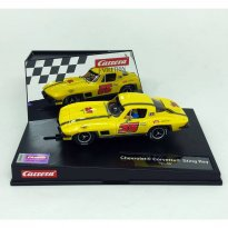 Imagem - Miniatura Carro Autorama Chevrolet Corvette Sting Ray No. 35 - 1:32 - Carrera Evolution