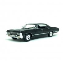 Imagem - Miniatura Carro Chevrolet Impala Sport Sedan (1967) - Supernatural - 1:24 - Greenlight