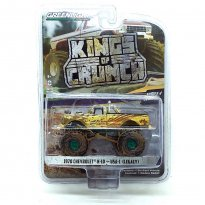 Imagem - Miniatura Picape Chevrolet K-10 - USA-1- Kings Of Crunch - Série 4 - 1:64 - Greenlight (Chase/Green Machine)