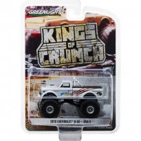 Imagem - Miniatura Carro Chevrolet K-10 (1970) USA-1 - Kings Of Crunch - 1:64 - Greenlight