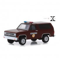 Imagem - Miniatura Carro Chevrolet K-5 Blazer (1981) - The X Files - Hollywood - Série 25 - 1:64 - Greenlight