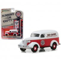 Imagem - Miniatura Carro Chevrolet Panel Truck (1939) - Red Crown - Running On Empty - Série 6 - 1:64 - Greenlight