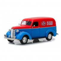 Imagem - Miniatura Carro Chevrolet Panel Truck (1939) STP - Running On Empty - 1:24 - Greenlight